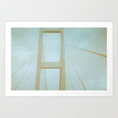 On Building Better Bridges Art Print