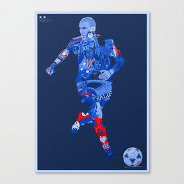 EQUIPE DE FRANCE DE FOOTBALL Canvas Print