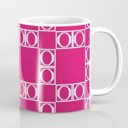 angle red & white Coffee Mug