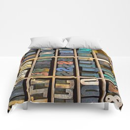 Wood Type II Comforters