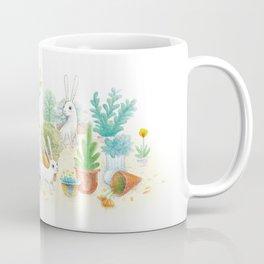 Hat pots and Bunnys Coffee Mug