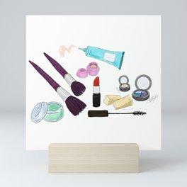 Makeup Bag Mini Art Print