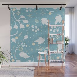 Winter Pattern Wall Mural