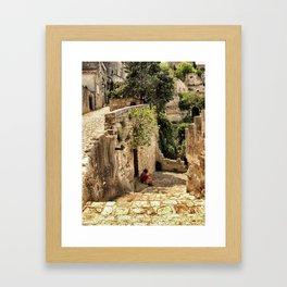 Chateau des Baux, France 2006s Framed Art Print