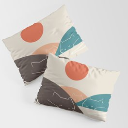 Cat Landscape 1 Pillow Sham