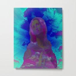Virgin (Blue)  Metal Print