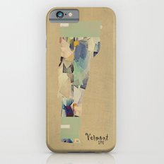 Vermont state map iPhone 6 Slim Case