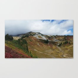 Alta Vista, Mount Rainier Canvas Print