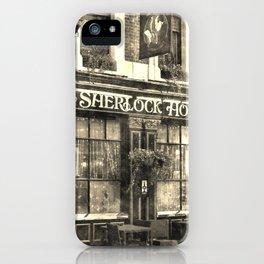 The Sherlock Holmes pub Vintage iPhone Case