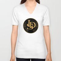 lsd V-neck T-shirts featuring LSD by PsychoBudgie
