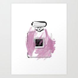 Purple Perfume #6 Art Print