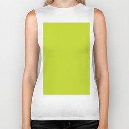 Lime Punch - Fashion Color Trend Spring/Summer 2018 Biker Tank