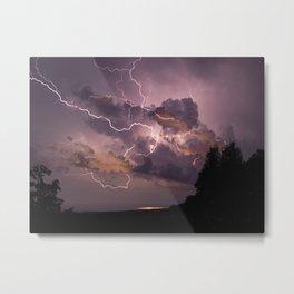 Storm is Coming Metal Print