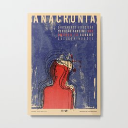 Anachronism Metal Print