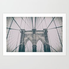 Brooklyn Bridge NYC Art Print