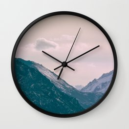 Across the Valleys Wall Clock