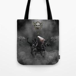 Laughing at my disaster Tote Bag