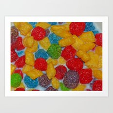 Tasty Cereal Art Print