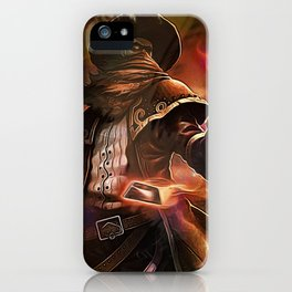 League of Legends HIGH NOON TWISTED FATE iPhone Case