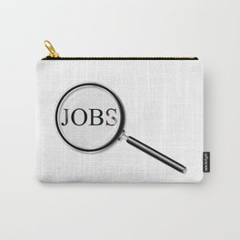 Jobs Magnifying Glass Carry-All Pouch