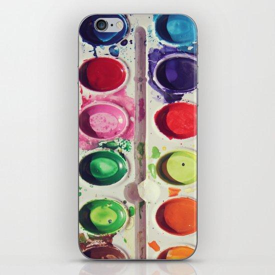 Watercolors iPhone & iPod Skin