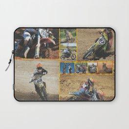 Motocross Collage Laptop Sleeve