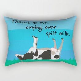 Spilt milk Rectangular Pillow
