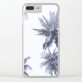 California Dreamin' in Blue Clear iPhone Case