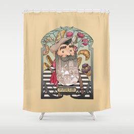 Tribute to Paris Shower Curtain