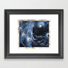Moon Madness Framed Art Print