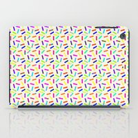 sprinkles iPad Cases featuring Sprinkles by Gary Hunt Illustration
