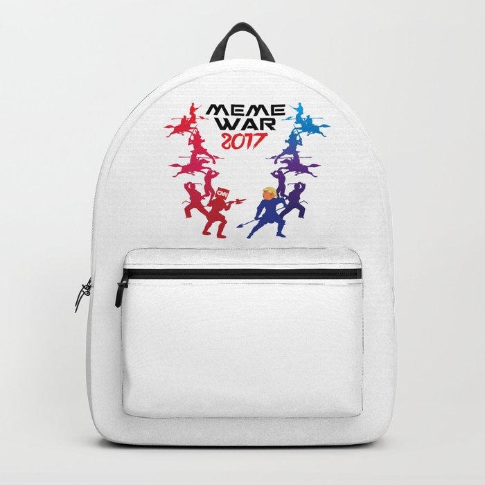 Meme War 2017 Backpack