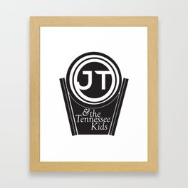 JT & the Tennessee Kids Framed Art Print