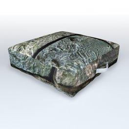 Wall of Stone Outdoor Floor Cushion