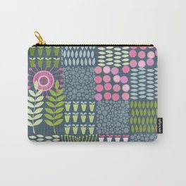 Golden Thyme and Silver Mint Carry-All Pouch