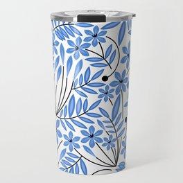 Spring Blues - Daffodils Travel Mug