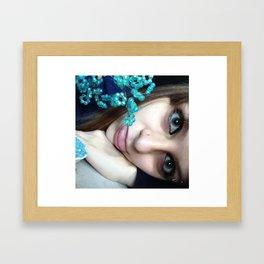 just me being me Framed Art Print