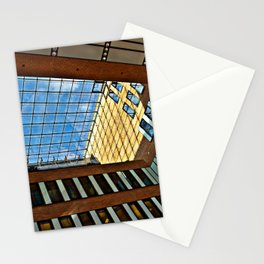 Modern office building in Hamburg Stationery Cards