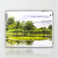 The Lily Pond Art Laptop & iPad Skin