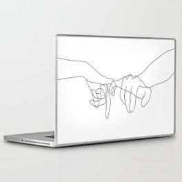 Pinky Swear Laptop & iPad Skin