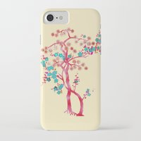 asian iPhone & iPod Cases featuring Asian Tree by Mimi Matloob Designs