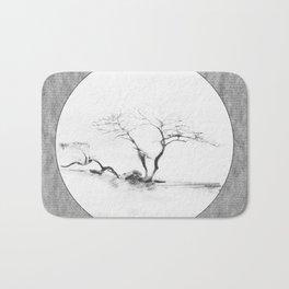 Scots Pine Paper Bag Grey Bath Mat