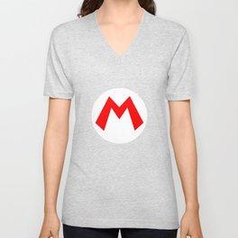 Nintendo Mario Unisex V-Neck