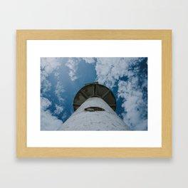 old lighthouse Framed Art Print