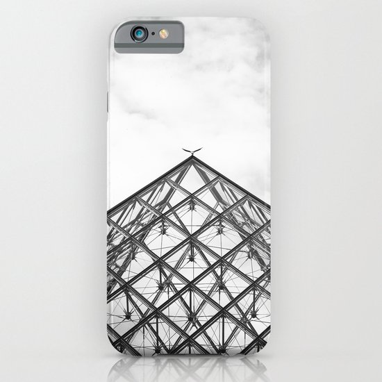 Louvre Pyramid Paris France iPhone & iPod Case