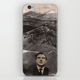 because it's there iPhone Skin