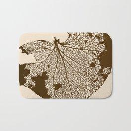 Leaf Skeleton Bath Mat