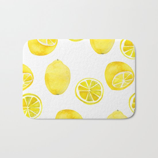 Lemon -ade Bath Mat