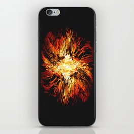 Hell Fire iPhone Skin