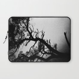 Tree in the fog Laptop Sleeve